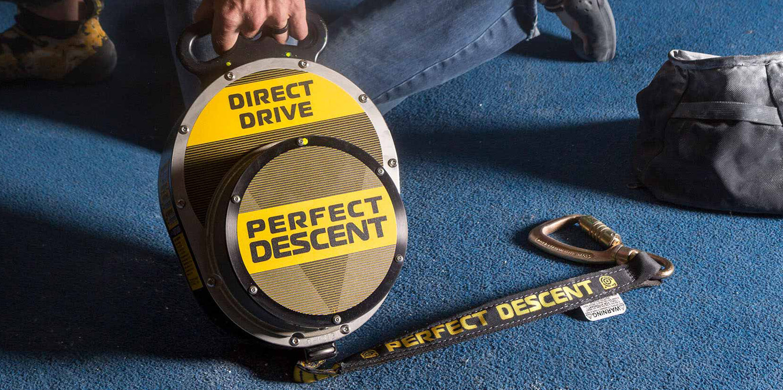 Perfect Descent auto belay is the ideal climbing companion